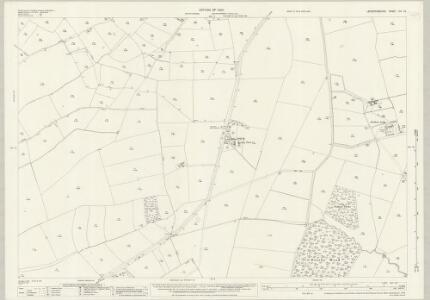 Leicestershire XIII.15 (includes: Freeby; Scalford; Waltham) - 25 Inch Map