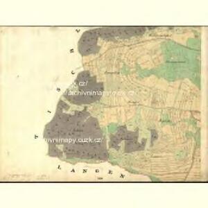 Sahorz - c9054-1-006 - Kaiserpflichtexemplar der Landkarten des stabilen Katasters