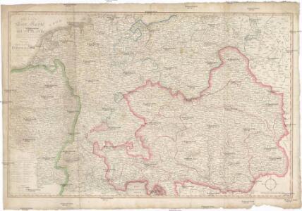 Neueste Post Karte von ganz Deutschland