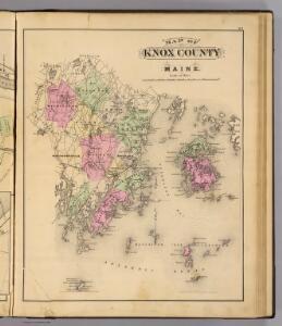 Knox Co., Maine.