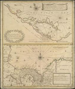 A draft of the Golden & adjacent Islands, with part of ye Isthmus of Darien as it was taken by Capt. Ienefer where ye Scots West-India Company were settled ; A New map of ye Isthmus of Darien in America, the Bay of Panama, the Gulph of Vallona...