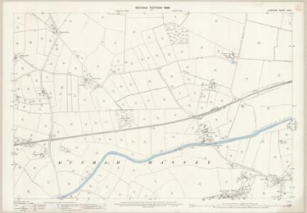 Cheshire XVIII.1 (includes: Altrincham; Dunham Massey) - 25 Inch Map