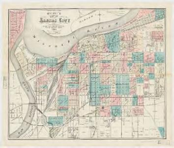 Wright\'s map of Kansas City