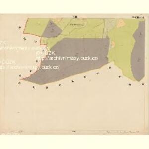 Pernek - c5699-1-012 - Kaiserpflichtexemplar der Landkarten des stabilen Katasters