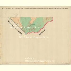 Eisenstein Dorf - c7755-2-019 - Kaiserpflichtexemplar der Landkarten des stabilen Katasters