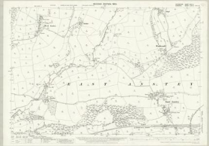 Devon XXIII.3 (includes: Dulverton; East Anstey; West Anstey) - 25 Inch Map