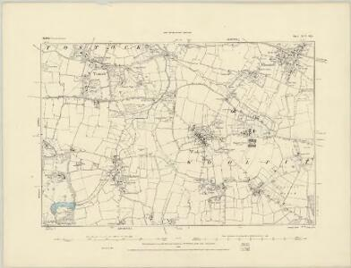Suffolk XLV.SW - OS Six-Inch Map