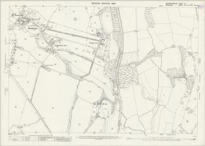 Buckinghamshire LIV.1 (includes: Denham; Uxbridge) - 25 Inch Map