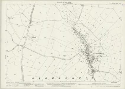 Rutland XIII.14 (includes: Liddington; Seaton; Stoke Dry; Thorpe By Water) - 25 Inch Map
