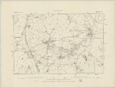 Shropshire XXI.SW - OS Six-Inch Map