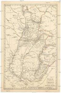 Charte eines Theils von Paraguay und der Provinz Buenos-Ayres
