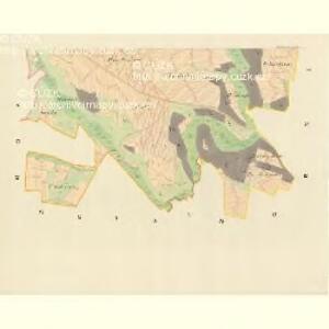 Ladonowitz - m1833-1-005 - Kaiserpflichtexemplar der Landkarten des stabilen Katasters
