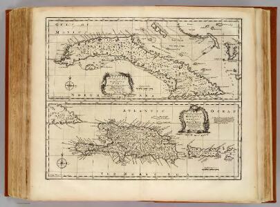 Cuba, Hispaniola, Porto Rico.