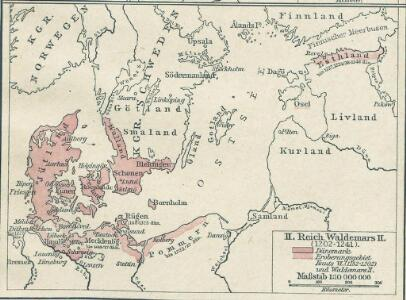 Nord- und Ostseeherrschaft II: Reich Waldemars II.