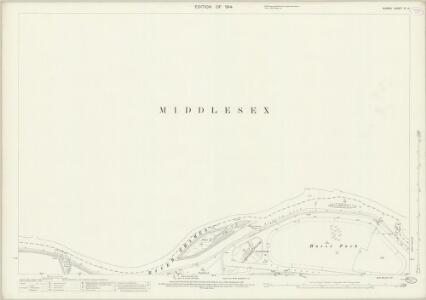 Surrey VI.14 (includes: Sunbury; Twickenham St Mary The Virgin; West Molesey) - 25 Inch Map