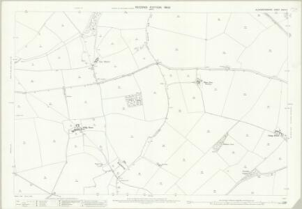 Gloucestershire XXVIII.11 (includes: Aston Blank; Naunton; Notgrove) - 25 Inch Map