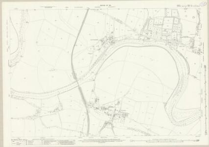 Durham LIV.12 (includes: Blackwell; Cleasby; Darlington; Low Coniscliffe; Manfield) - 25 Inch Map