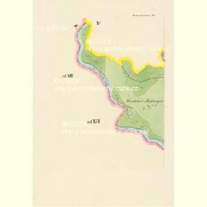 Kardaschrzetschitz - c3049-1-016 - Kaiserpflichtexemplar der Landkarten des stabilen Katasters