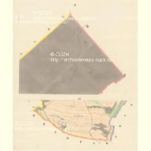 Schweine (Swinow) - m1030-1-001 - Kaiserpflichtexemplar der Landkarten des stabilen Katasters