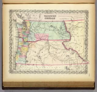 Washington And Oregon.