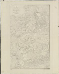 Kaart voorstellende de ligging der eigendommen van de Maatschappij van weldadigheid.