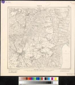 Meßtischblatt 1806 : Damme, 1900
