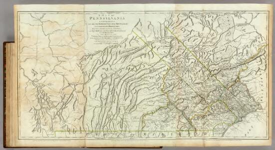 Map Of Pennsylvania.