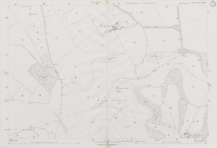 Wiltshire LXXIV.2 (includes: Berwick St John; Donhead St Andrew; Donhead St Mary) - 25 Inch Map