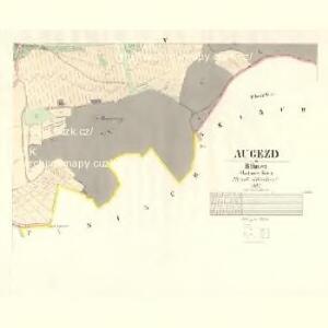 Augezd - c8211-1-003 - Kaiserpflichtexemplar der Landkarten des stabilen Katasters