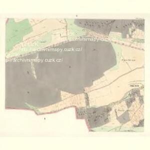 Ullitz - c8243-1-005 - Kaiserpflichtexemplar der Landkarten des stabilen Katasters