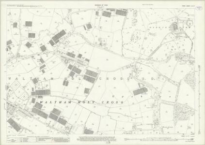 Essex (New Series 1913-) n LX.10 (includes: Waltham Holy Cross) - 25 Inch Map