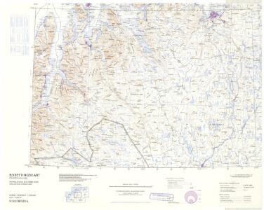 Statistikk 43-27-2: Bosettingskart over Nordreisa. Blad 27