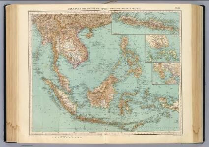 95-96. Indocina, Siam, Arcipelago Malese.