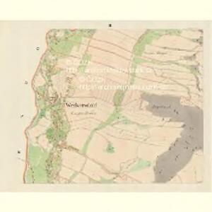 Weikersdorf (Wigyrowice) - m3401-1-002 - Kaiserpflichtexemplar der Landkarten des stabilen Katasters