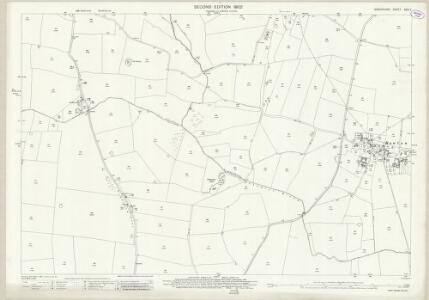 Shropshire XXIX.7 (includes: Ercall Magna; Shawbury) - 25 Inch Map