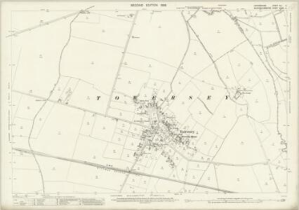 Oxfordshire XLI.4 (includes: Kingsey; Thame; Towersey) - 25 Inch Map
