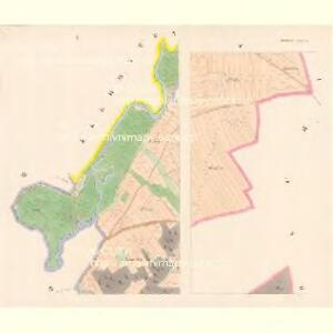 Schlowitz (Slowice) - c7750-1-001 - Kaiserpflichtexemplar der Landkarten des stabilen Katasters