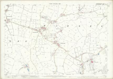 Worcestershire V.6 (includes: Oldbury; Smethwick; Warley Woods) - 25 Inch Map