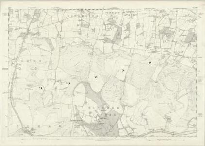 Sussex LIII - OS Six-Inch Map