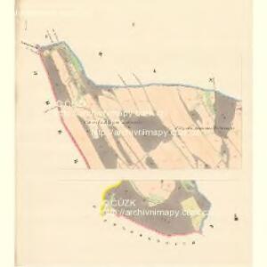 Wiese (Laučka) - m1620-1-001 - Kaiserpflichtexemplar der Landkarten des stabilen Katasters