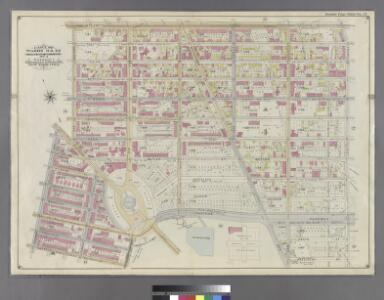 Part of Wards 9, 22 . Land Map Section, No. 4 , Volume 1, Brooklyn Borough, New York City.