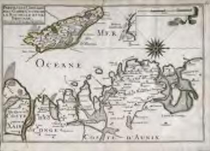 Parties des capitaineries garde costes de La Rochelle et de Brouage