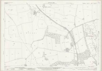Yorkshire CCLXXVI.15 (includes: Brodsworth; High Melton; Marr; Spotbrough) - 25 Inch Map