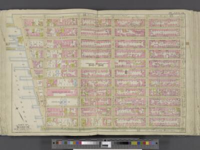 Manhattan, Double Page Plate No. 13 [Map bounded by W. 25th St., 7th Ave., W. 14th St., Hudson River]
