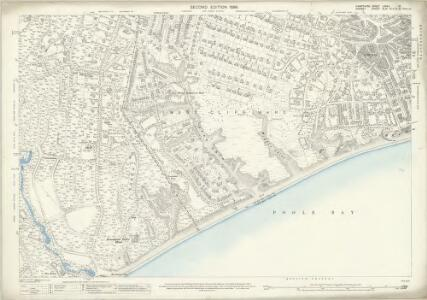 Hampshire and Isle of Wight LXXXV.16 (includes: Bournemouth; Poole) - 25 Inch Map