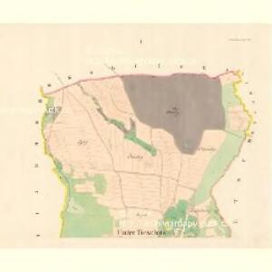 Unter Tieschitz (Dolni Tiessice) - m0534-1-001 - Kaiserpflichtexemplar der Landkarten des stabilen Katasters