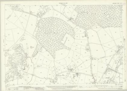 Middlesex IX.8 (includes: Ruislip; Uxbridge) - 25 Inch Map