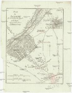 Plan der Akademie und der umliegenden Gegend