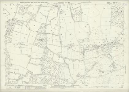 Surrey XLII.9 (includes: Burstow; Worth) - 25 Inch Map