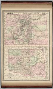 Colorado.  Indian Territory (Oklahoma).